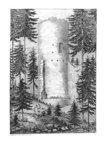 1846 rytina dle kresby C Brantla