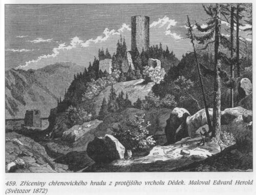 Chřenovice 1872