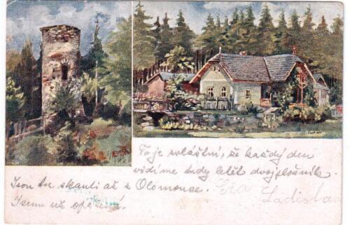 Pohlednice z Hradu Chřenovice