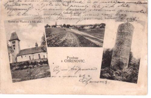 Pozdrav z hradu Chřenovice