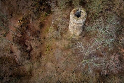 Hrad chřenovice pohled z výšky