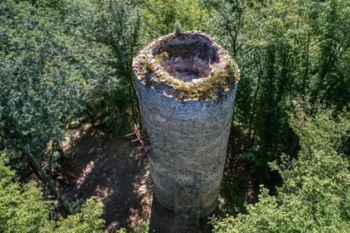 Hrad chřenovice věž Tomáš Tuček
