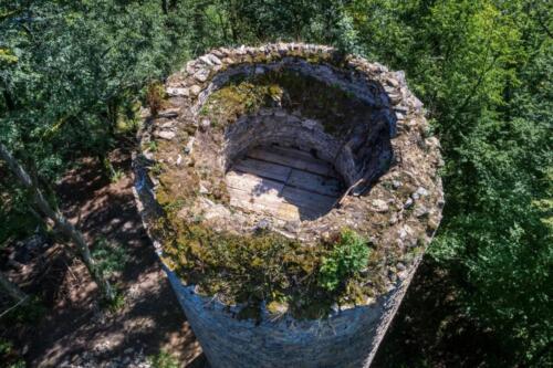 Hrad chřenovice věž oprava